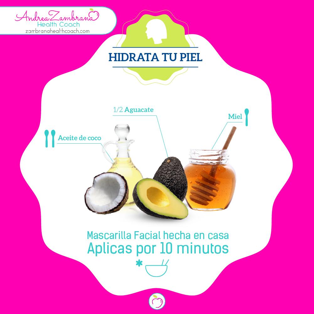 4 Hidrata tu piel