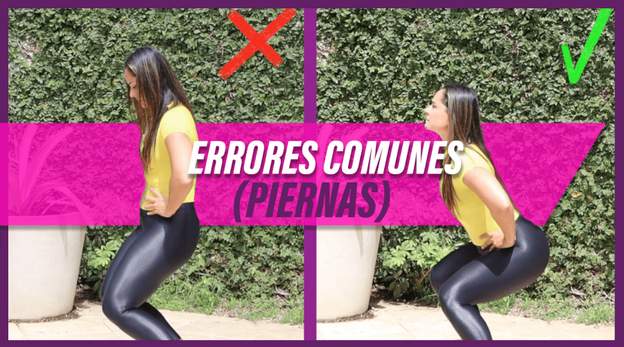 ERRORES COMUNES SQUATS
